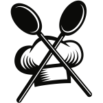 Chef restaurant logo