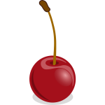 Dark red cherry