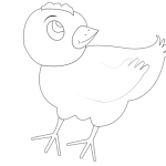 chicken-001-vector-coloring