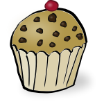 Chocolate chip muffin