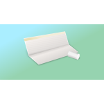 Paper sheet and roll