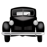 Classic car vector graphics