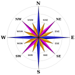 New compass rose
