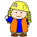 Construction kid image