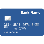 Credit card vector illustration