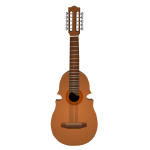 Vector illustration of guitar