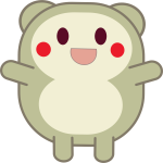 Cute critter vector illustration