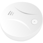 Smoke detector vector drawing