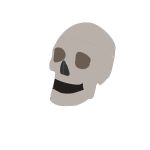 Skull simple drawing
