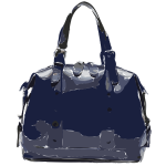 dark purple handbag