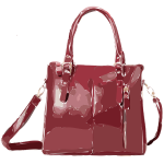 dark red bag