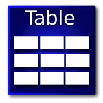 db tables