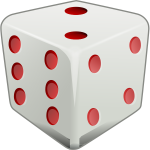 3d image of dice