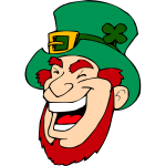 dkdlv Laughing leprechaum
