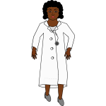 Lady doctor image