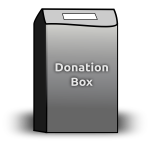 Donation Box Vector Graphics