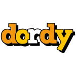Dordy word stylized text
