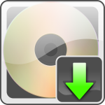 Download button with cd