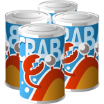 Crabato juice vector illustration