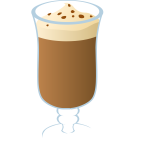 Vector clip art of cup of hot cocoa