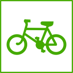 eco green cycle icon