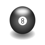 Ball number eight