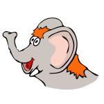 drawn elefant