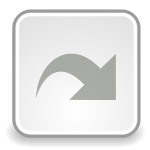Grayscale image of download icon