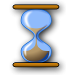 Hourglass vector clip art