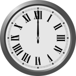 Clock vector graphics