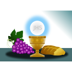 Eucharist imagery clip art