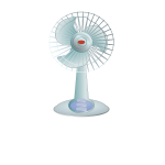 Desktop fan vector image