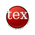 Vector image of fancy shiny red button for text