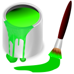 color bucket green