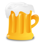 Beer mug vector illustration