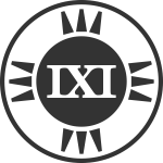 fictional brand logo IXI