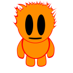 Flame toy