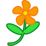 Flower cartoon drawing clip art