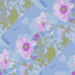 flower seamless pattern 03