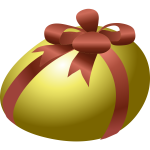 Wrapped egg