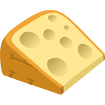 Cheesy slice