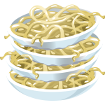 food plain noodles