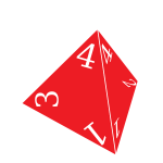 Four sided die