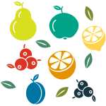 Various fruits (#4)