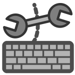 Configure shortcuts icon