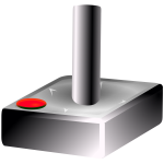 Joystick vector graphics