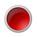 Dark red button in gray frame