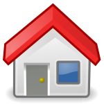 House icon vector clip art
