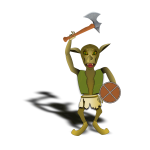 Goblin warrior image