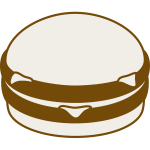 Hamburger vector graphics